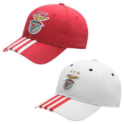 Benfica Lissabon adidas 3 Stripes Cap Fußball Fan Kappe Portuhal Lisboa neu