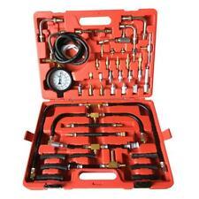 New Manometer Fuel Injection Pressure Tester Gauge Kit System 0 140 Psi