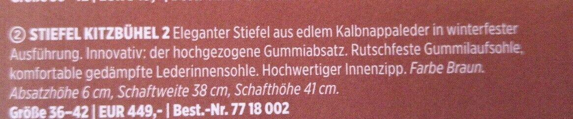 Bogner Stiefel Kitzbühel 2 38 38 38 braun 7e5b64