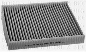 Borg-amp-Beck-Kabine-Pollen-Filter-fuer-Opel-Fliessheck-Viva-1-0-55KW