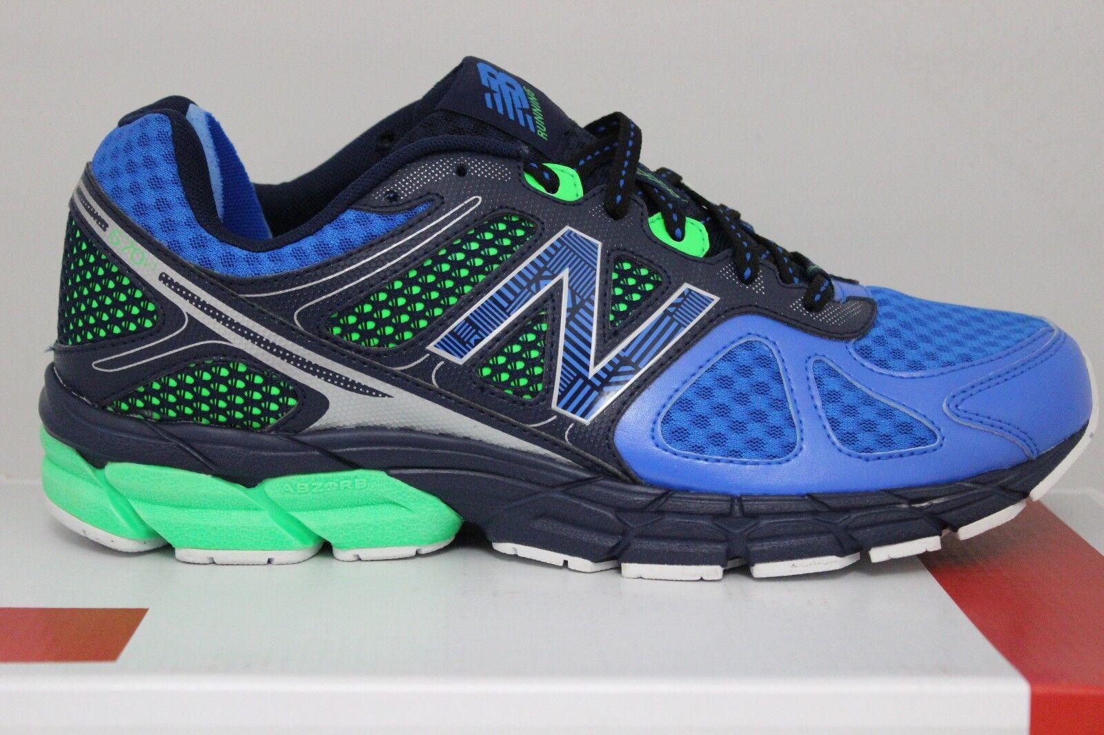 Men's New Balance Running 670 V1 Blue/Navy/Green M670RE1 Brand New