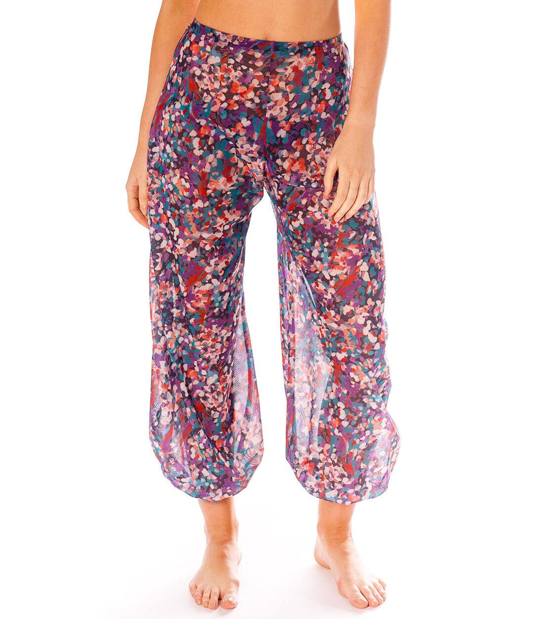 Kiniki Elba Tan Through Harem Trousers Accessory Beachwear Made in England