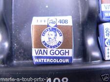 PEINTURE AQUARELLE 1/2 GODET Van Gogh - terre ombre naturelle 408 +++ TALENS