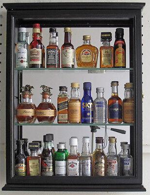 Madera Maciza Mini Botella De Licor, Liquor Cabinet Lockable