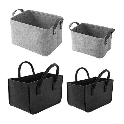Creative Linen Basket Toys Cotton Storage Bag Foldable Laundry Organizer Firm