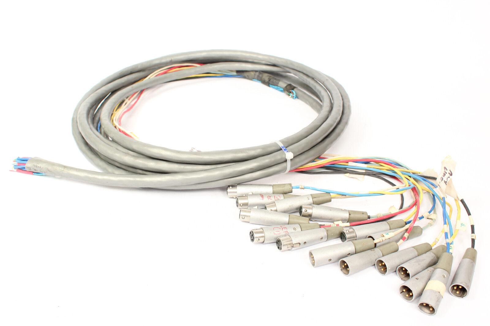 Belden Belden Belden 9769 Serpiente Cable de 17 canales XLRF-XLRM a granel Desnudo inconcluso 28' XLR  varios tamaños