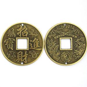 15pcs cobre recubierto Chinas Antiguas Monedas forma granos encontrando