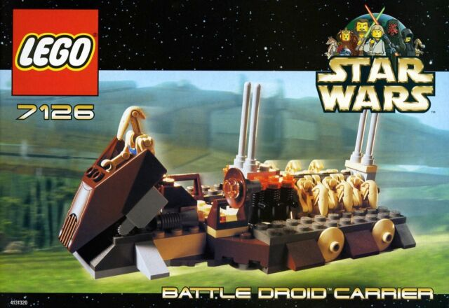 Lego Star Wars Battle Droid Carrier 7126 For Sale Online Ebay