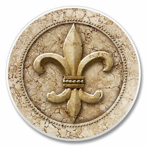 Fleur De Lis Single Ceramic Car Coaster 106 Ebay