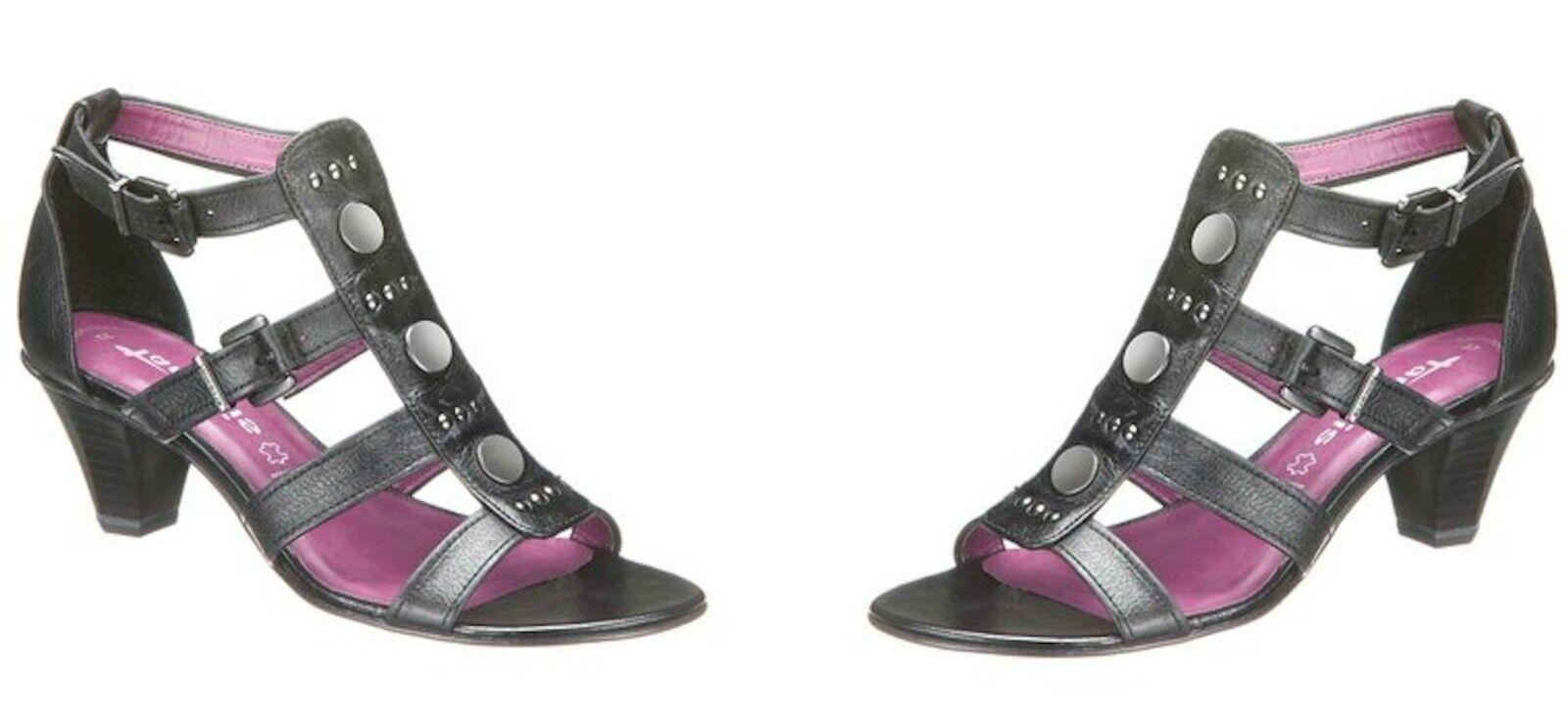 Tamaris schwarz, Sandalen 171088 Damenschuhe Sandaletten, schwarz, Tamaris EU 40 7e4604