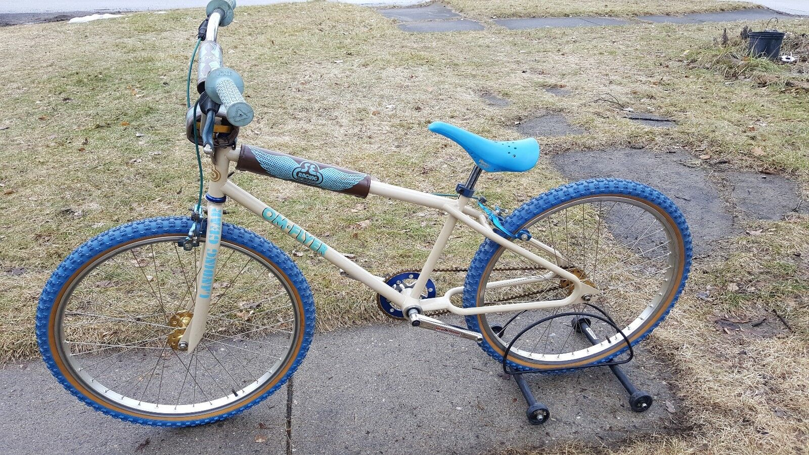 OLD SCHOOL BMX 1980 SE RACING OM FLYER RARE  COWBOY CUT FORKS 26  CRUISER VINTAGE  save 60% discount and fast shipping worldwide
