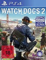 ★ PS4 Spiel Watch Dogs 2 *wie NEU!* deutsch Playstation 4 Top! ★
