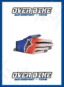 GUANTO-CROSS-ALPINESTARS-RADAR-FLIGHT-TAGLIA-S-ROSSO-BLU-BIANCO-MX-OFF-ROAD-QUAD