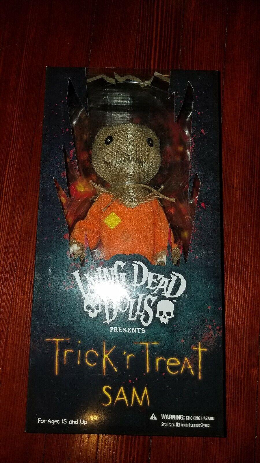 Mezco Living Dead Dolls Trick R Treat Sam For Sale Online Ebay
