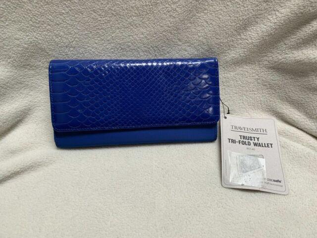 TravelSmith Trusty Tri-fold RFID Wallet