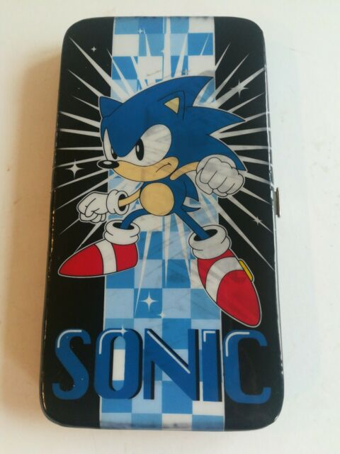 Sonic The Hedgehog Animated Character Game Play Hinged Wallet For Sale Online Ebay