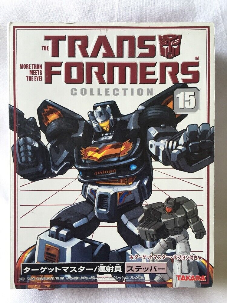 Transformers Collection Stepper Action Figure, New   2003 Japan Import