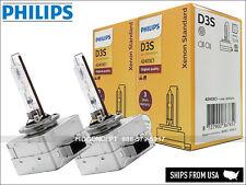 2X (PAIR) PHILIPS OEM D3S 42403C1 XenStart HID XENON BULBS DOT 35W GERMANY 4300K