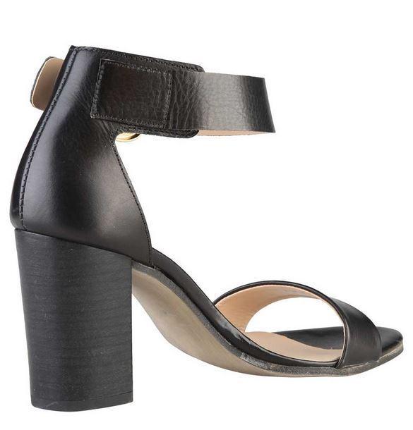 Versace V1969 MARIE Sandalette schwa Highheel Echtleder Damenschuhe Sandalette MARIE Gr 40 ab3149