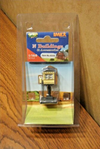 IMEX N SCALE SIGNAL TOWER BUILT-UP STRUCTURE