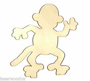 image is loading monkey uncle unfinished wood shape cut out m5807