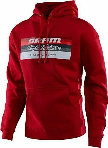 Troy Lee Designs SRAM TLD RACING BLOCK PULLOVER RED Red