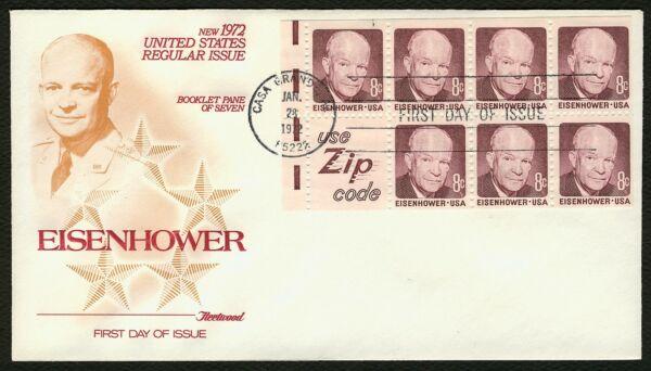 #1395d 8c Eisenhower-use Fermeture Code, Fleetwood Premier Jour Any 4 = Complet Dans Les SpéCifications