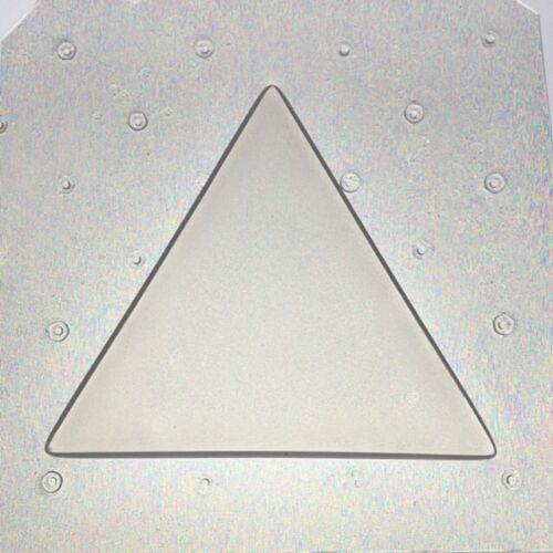 Flexible Resin Triangle Shape Mold