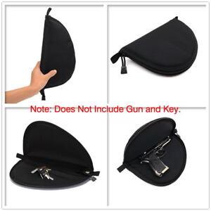 pistol carry bag portable military handgun holster pouch hand gun soft case HI