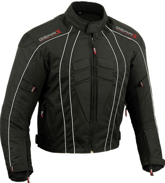 DryLite Motorbike Motorcycle Jacket Wind/ Waterproof Protection Armours