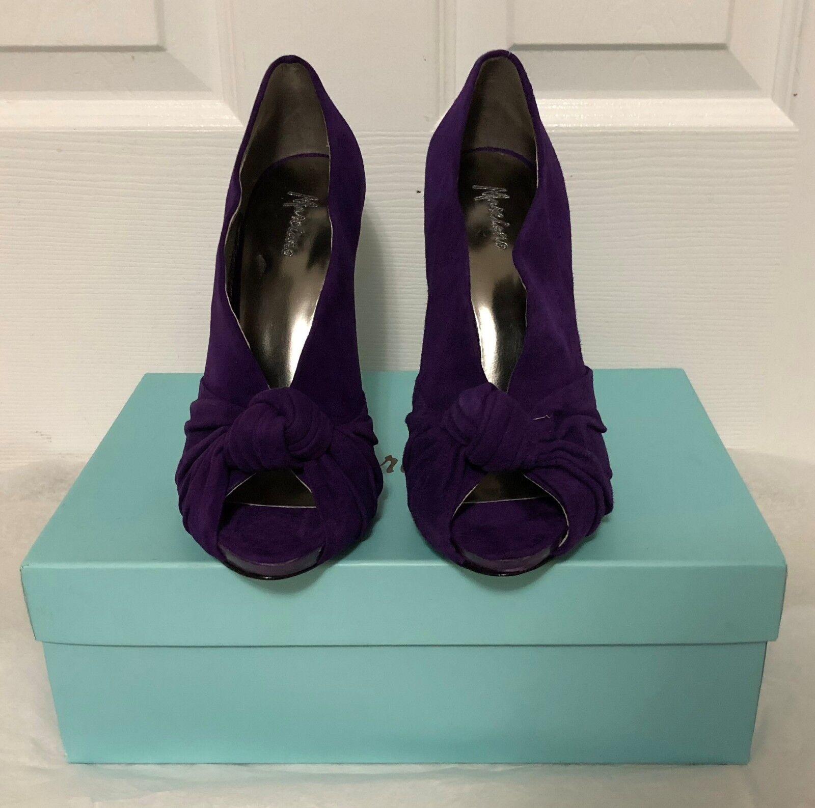 Nuevo En Caja  285 Marciano Guess Guess Guess Alex púrpura oscuro zapatos talla 8 8.5    últimos 1 para cada  precio al por mayor