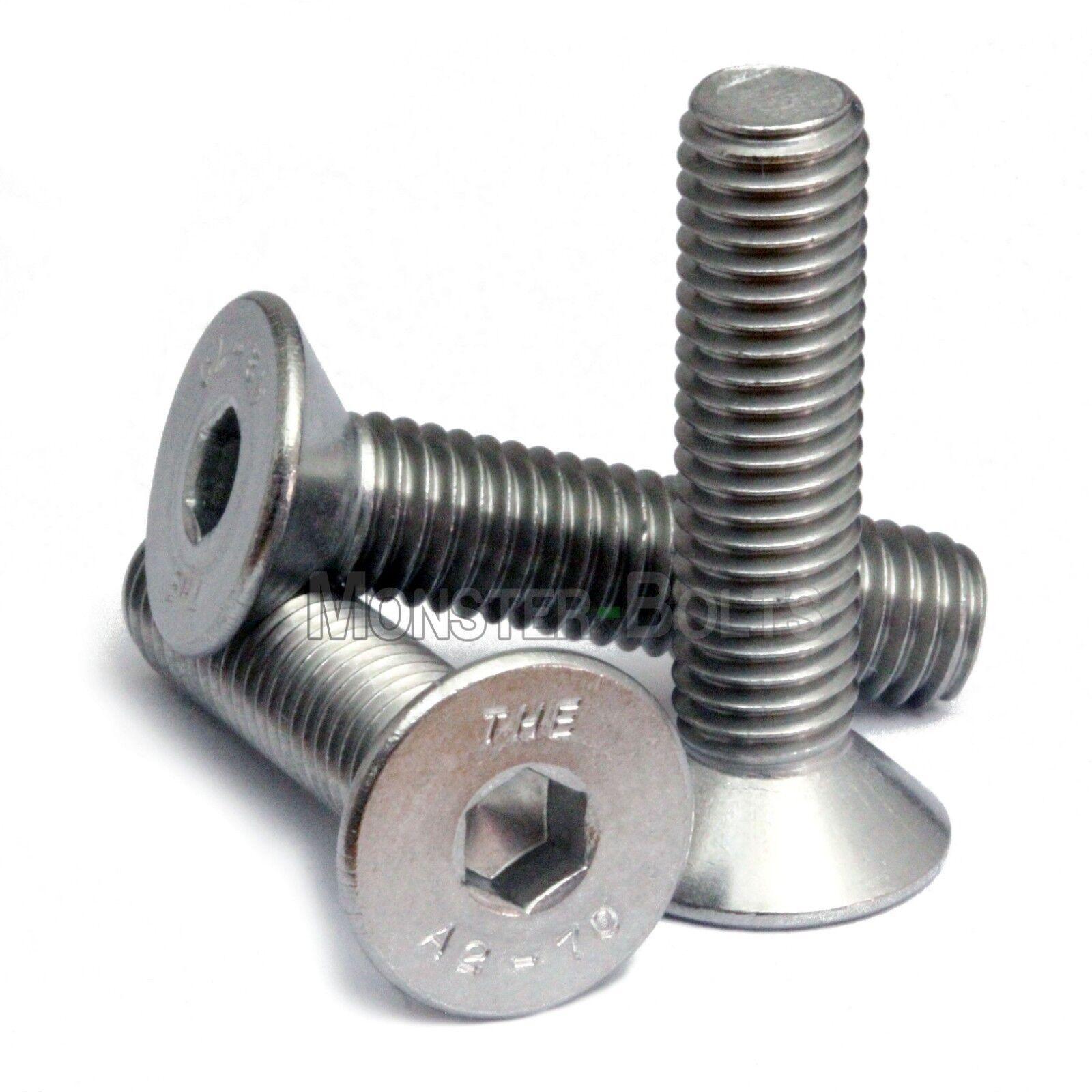 St@llion M10 HEX SET SCREW Stainless Steel A2 Hexagon Bolts Threaded Bolt Head DIN 933