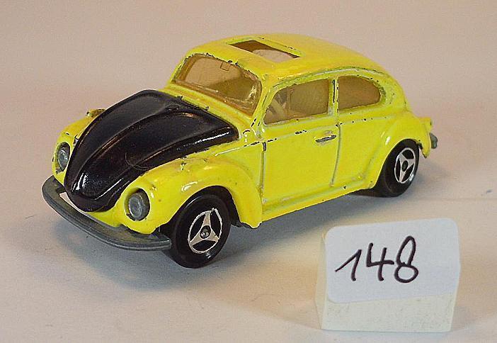 Majorette Majorette Majorette 1   60 nr. 202 vw volkswagen 1302 limousine gelb   schwarz   148 91f1dd