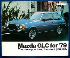 Prospekt brochure 1979 Mazda GLC for `79   (USA)