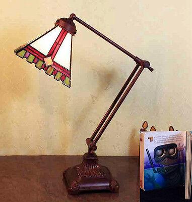 Tiffany Büro Tisch Lampe Tiffanylampe Bürolampe Tischlampe GN231klein