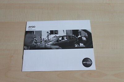 Zubehör Preisliste Toyota Aygo Prospekt 200? PüNktliches Timing 107082