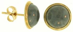 Natural-Grey-Jadeite-Jade-Founds-14K-Yellow-Gold-Earrings