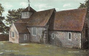 POSTCARD-BUCKINGHAMSHIRE-HEDSOR-Church