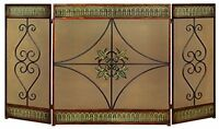 Deco 79 Metal Fire Screen, 60 By 32-inch, New, Free Shipping on sale