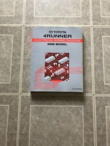 2006/2005 Toyota 4runner 4 Runner Electrical WIRING ...
