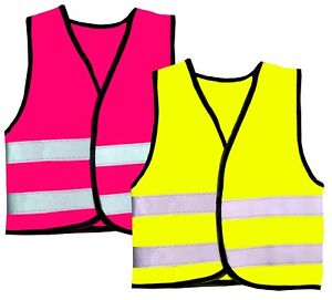 HI-VIZ-KIDS-BOYS-GIRLS-BABY-FLUORESCENT-PRINTED-OUTDOOR-SAFETY-VEST-WAISTCOAT