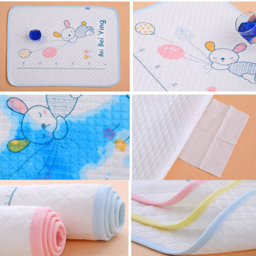 Cotton Baby Infant  Waterproof Urine Mat Cover 35x45cm Top Sale