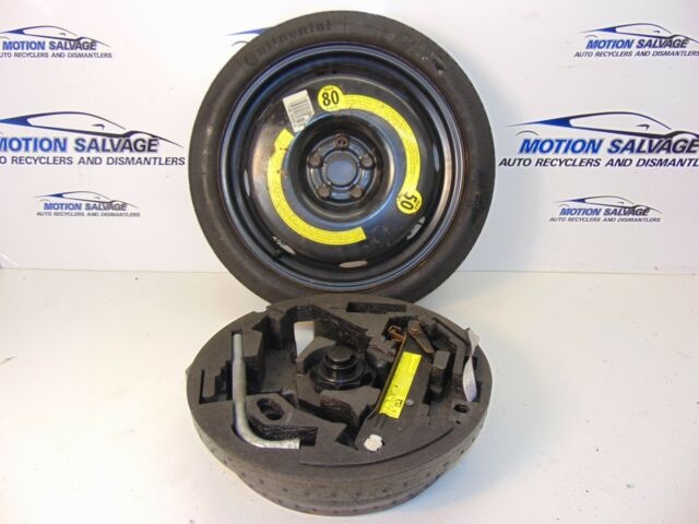 AUDI A3 8P VOLKSWAGEN 18 INCH SPACE SAVER SPARE WHEEL & JACK KIT 2003-2006