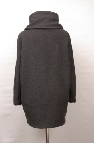 P1424 Regular Uld Uk 12 Coat Cashmere Loose Fit 58 Grey Sofia Cashmere IqPZzIrOw