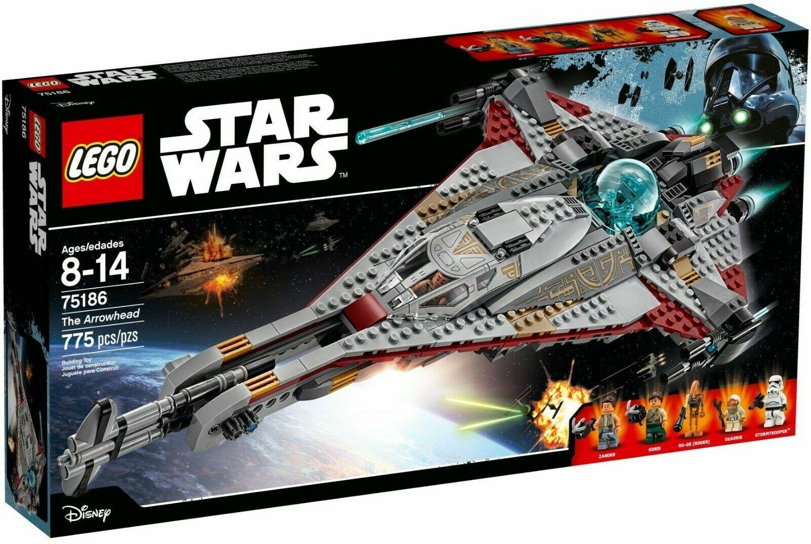 Lego 75186 estrella guerras The  Arrowhead VHTF  Prezzo al piano