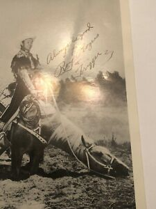 Roy Rogers And Trigger Signed Studio Photo 5x7