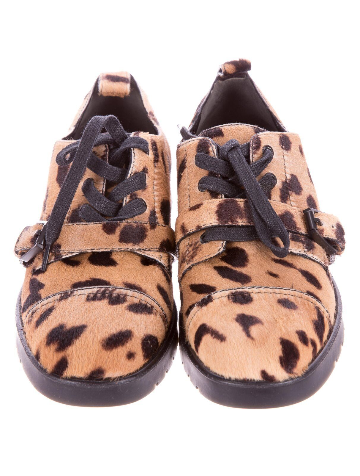 STUNNING NWB SOLD OUT  695 LEOPARD PATTERN CALF CALF CALF HAIR LOAFERS BY ALEXANDER WANG 6a087f