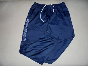 vintage-SERGIO-TACCHINI-Trainingshose-Jogger-glanz-blau-sport-hose-oldschool-D52