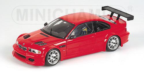 BMW M3 GTR Street versión 2001 Rojo 100012101