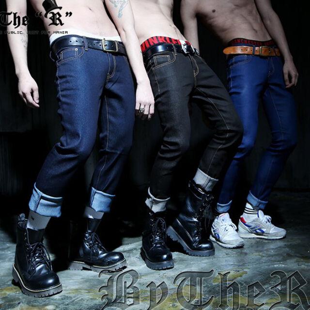 ByTheR Denim Skinny Pants Jeans Stylish Elegant Trendy Urban P000BRSY